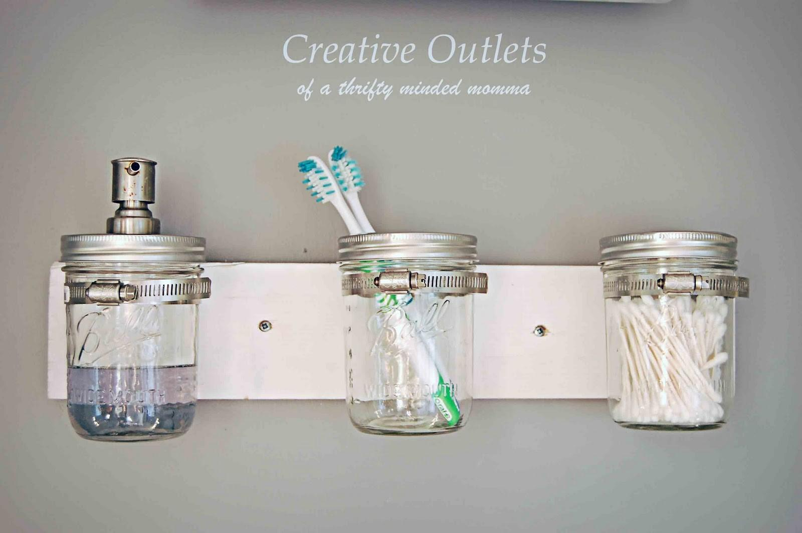 Creative Outlets Thrifty Minded Momma Mason Jar