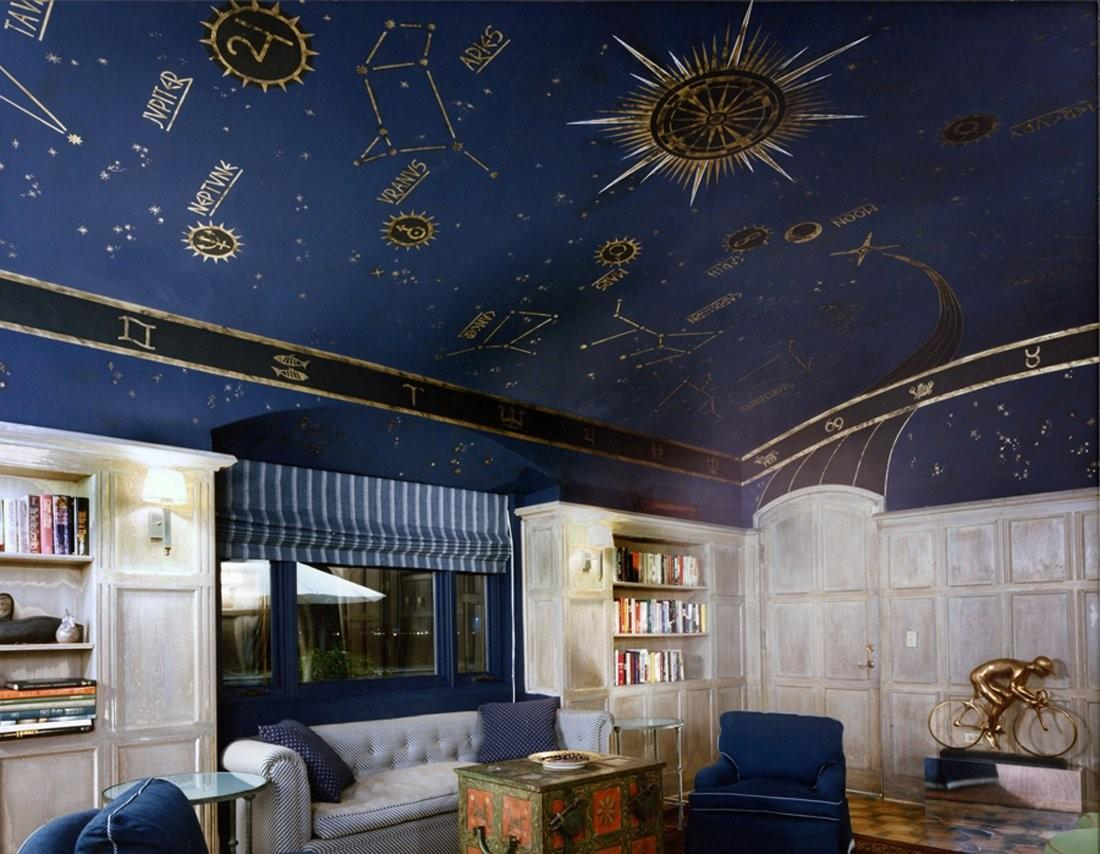 Creative Painted Ceiling Designs Inspire