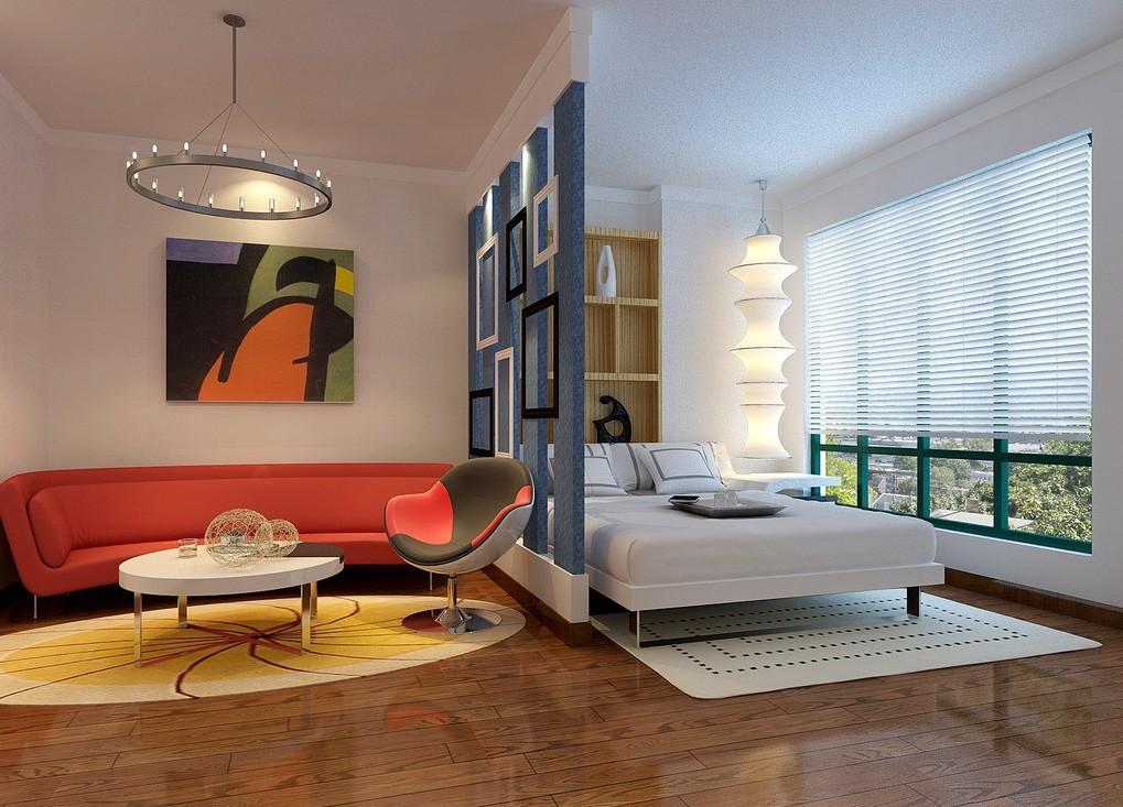 Creative Partition Wall Bedroom House