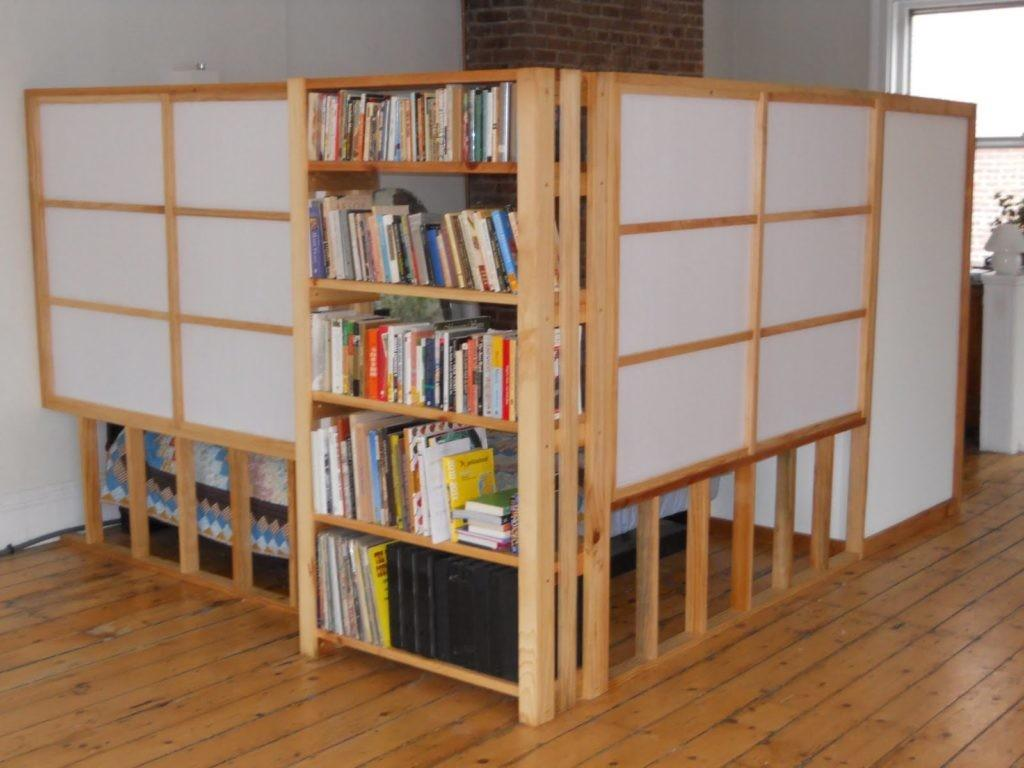 Creative Partitions Rooms Style Wooden Wall