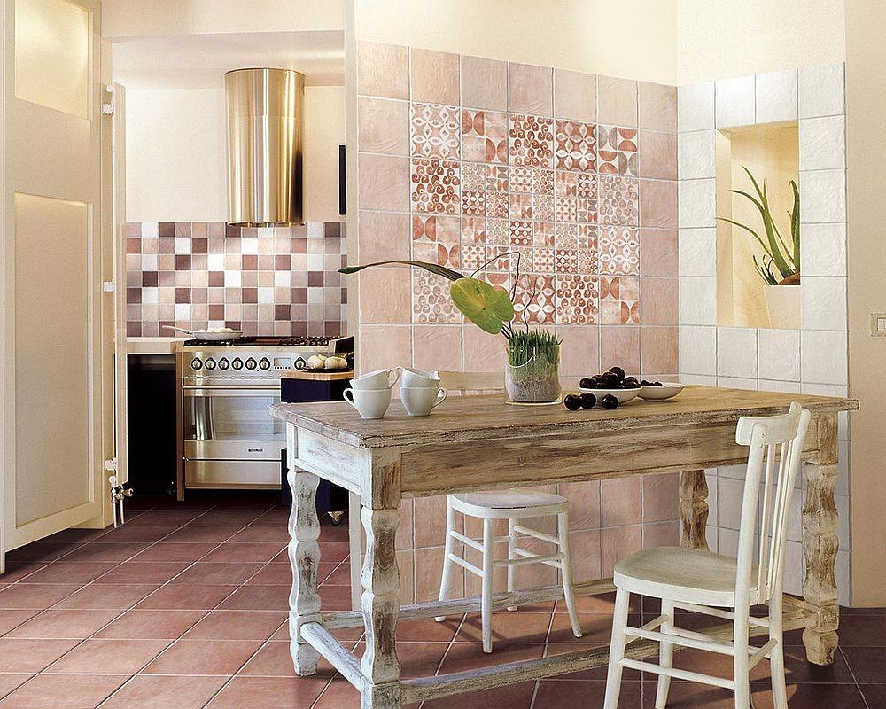 Creative Patchwork Tile Ideas Color Pattern