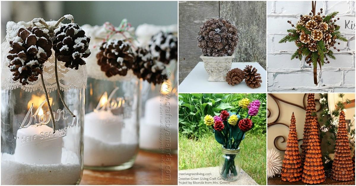 Creative Pinecone Crafts Add Beauty Your Fall