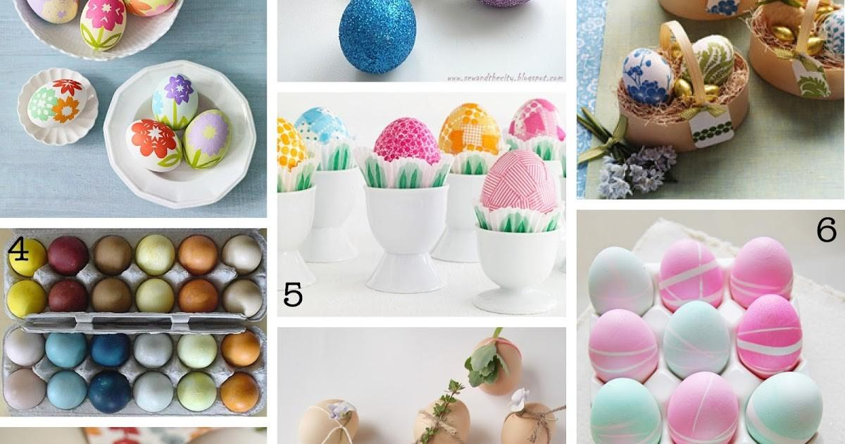 Creative Place Diy Easter Egg Decorating Roundup