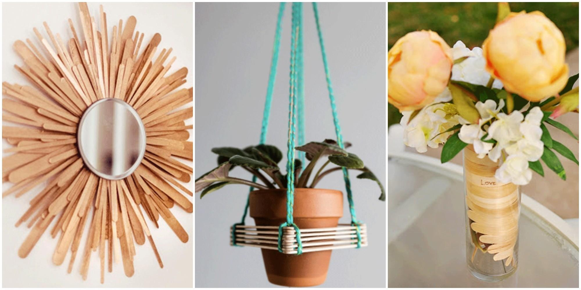 Creative Popsicle Stick Crafts Easy Diy Ideas