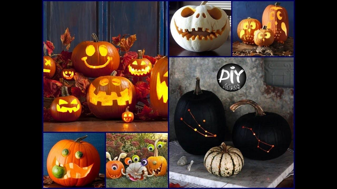 Creative Pumpkin Carving Ideas Diy Halloween Decor