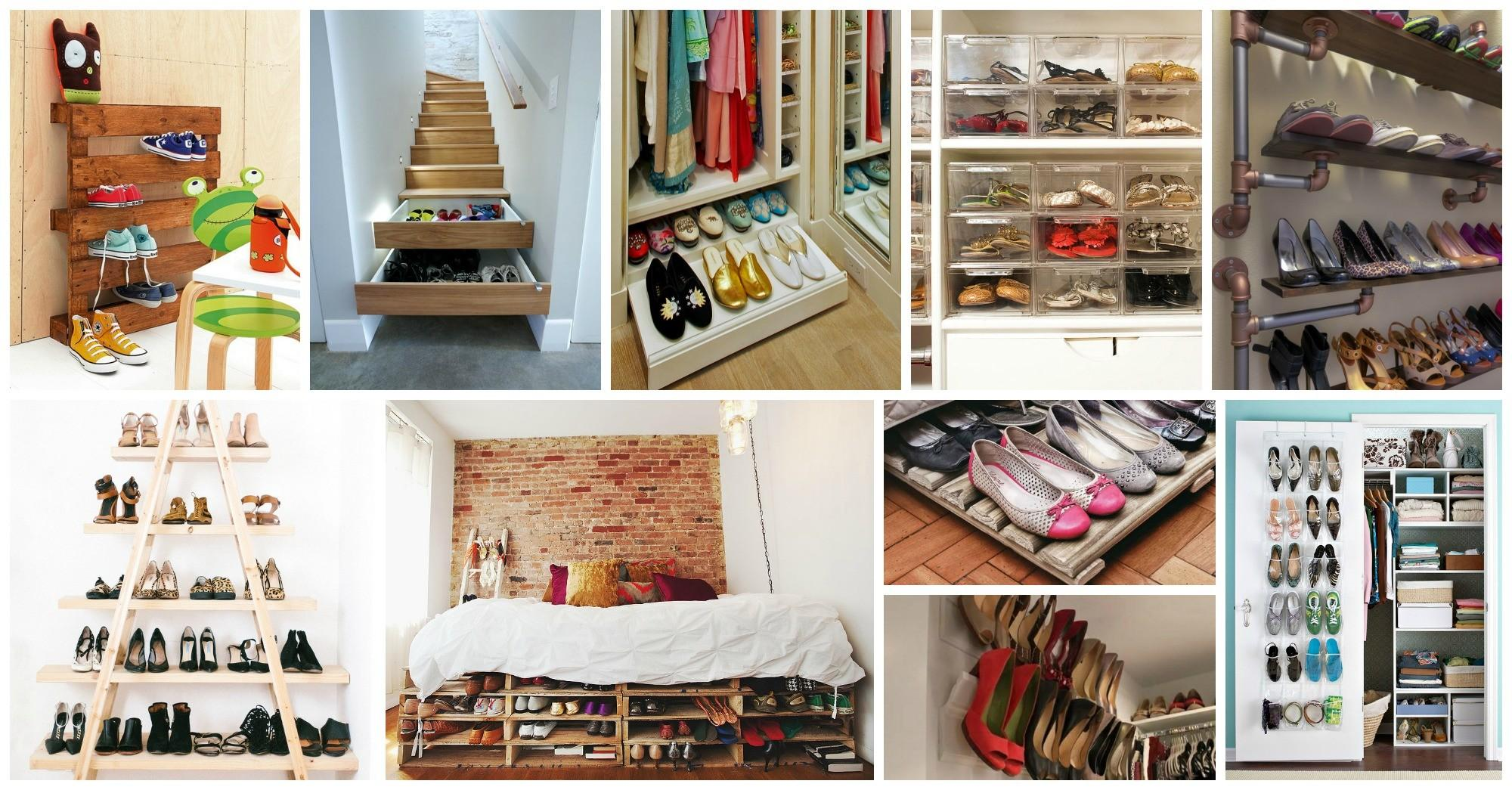 Creative Shoe Storage Ideas Impress