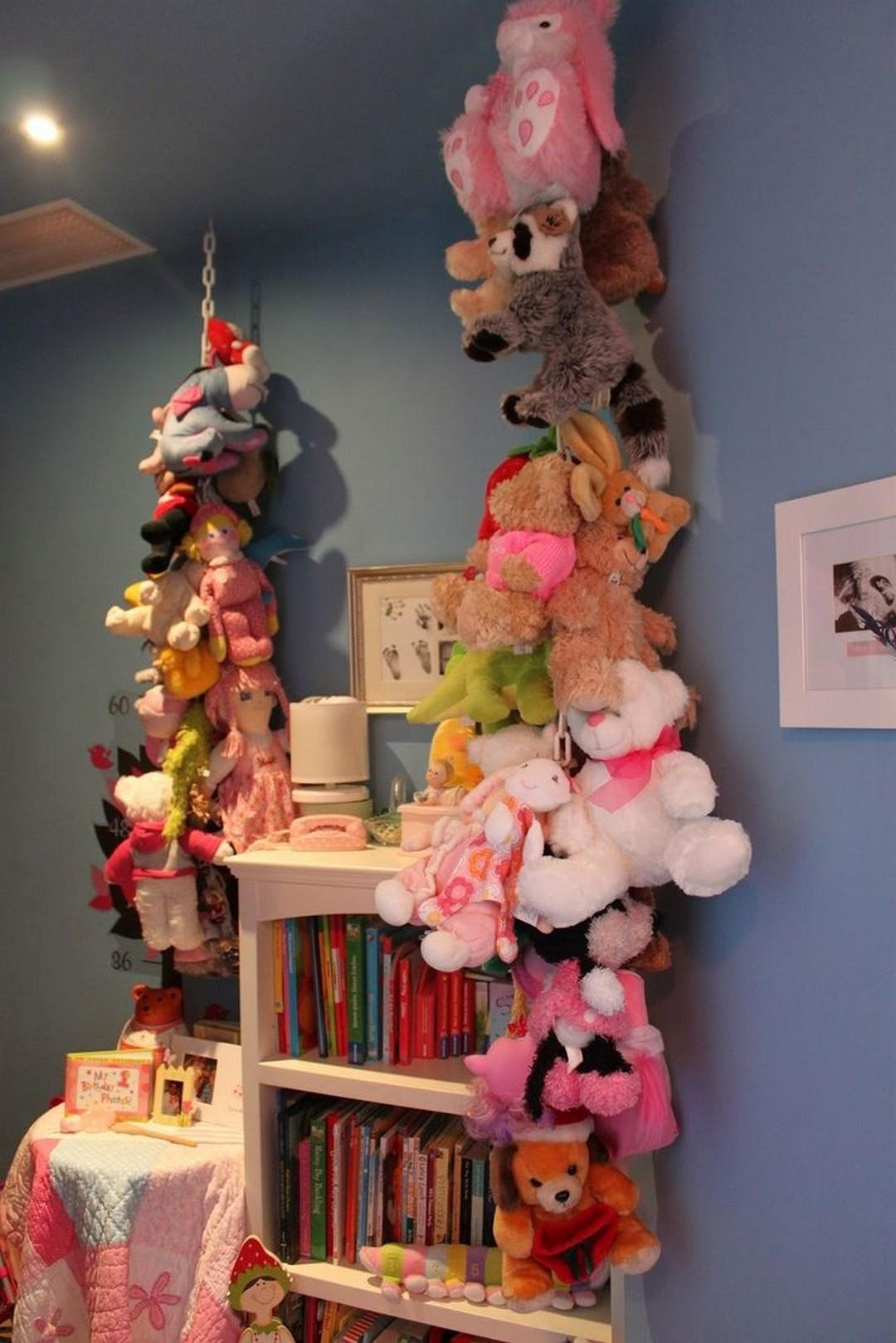 Creative Stuffed Animals Storage Idea Futurist