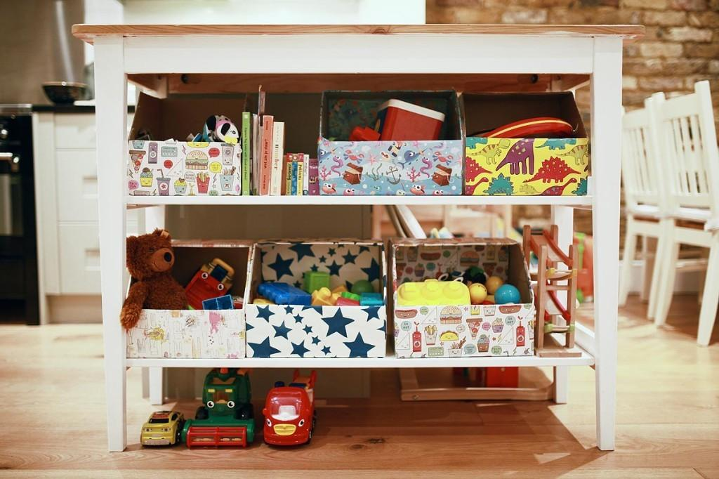 Creative Toy Storage Ideas Andrea Notebook