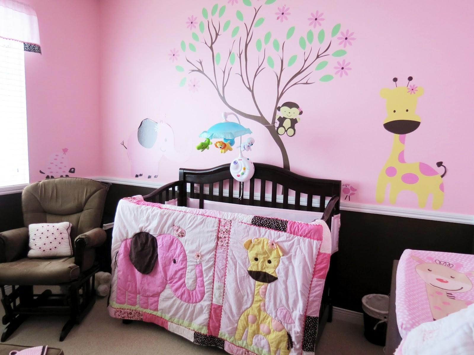 Creative Tradition Pink Chocolate Baby Girl Jungle