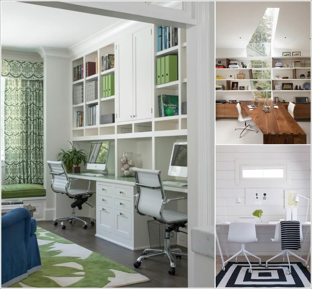 Creative Two Person Home Office Ideas