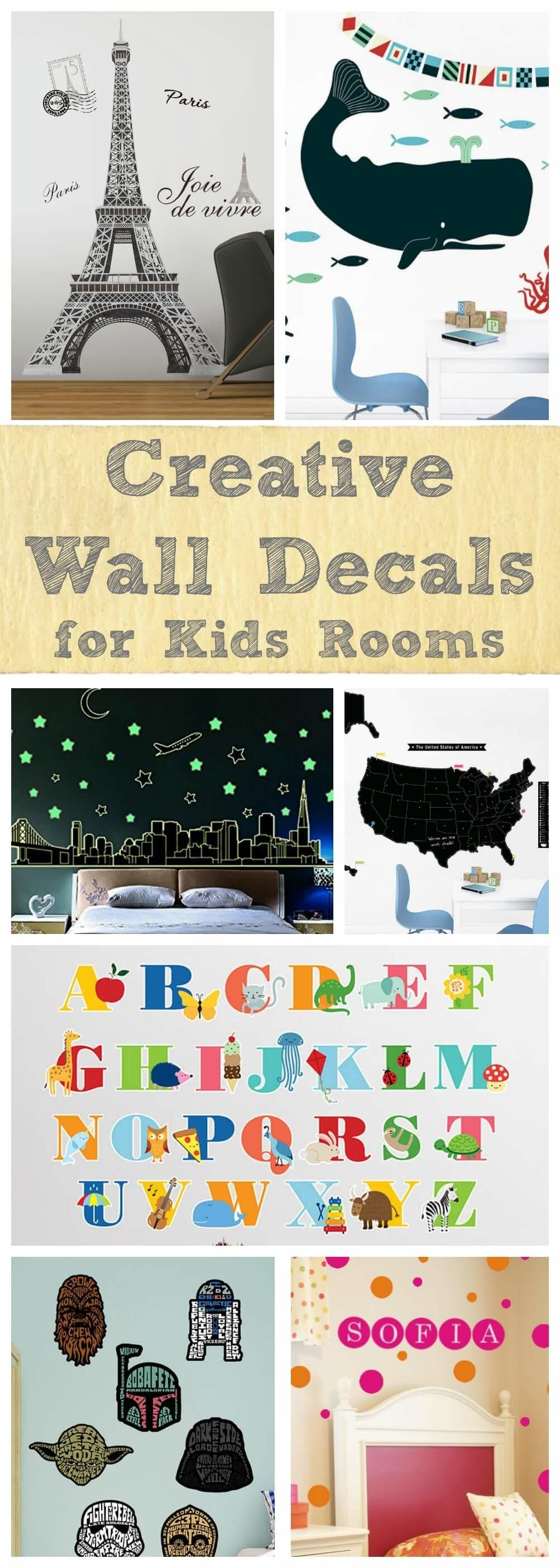 Creative Wall Decals Kids Rooms Sometimes Homemade