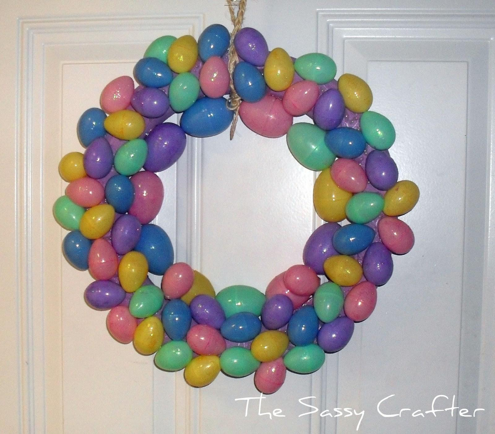 Creative Way Make Easter Wreath