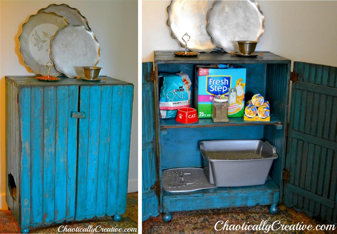 Creative Ways Hide Your Cat Litter Box Healthy Paws