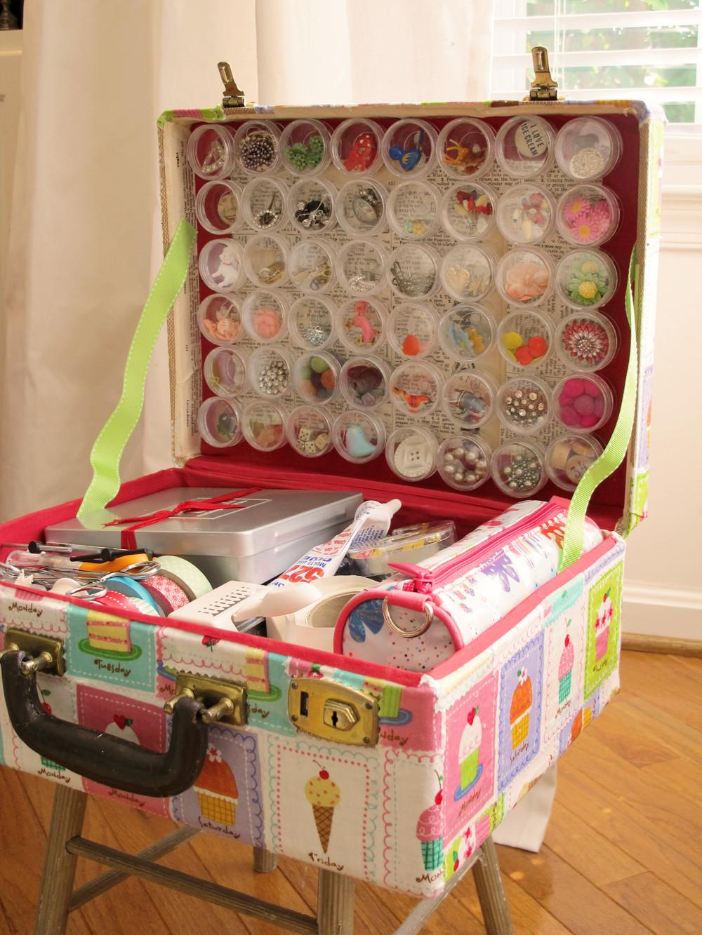 Creative Ways Recycle Reuse Vintage Suitcases