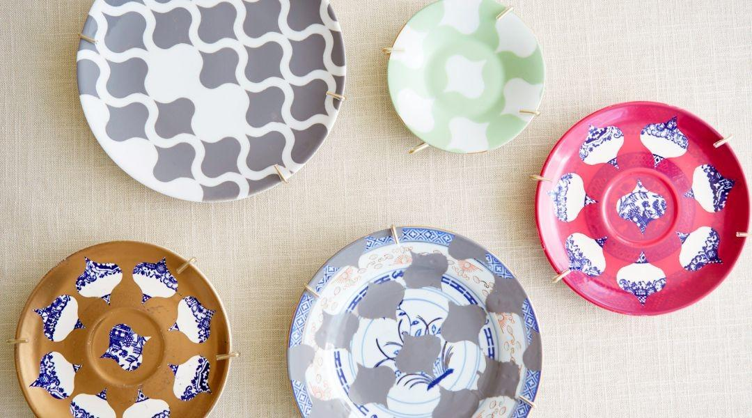 Cricut Crafts Make Decorative Painted Plates Courtney