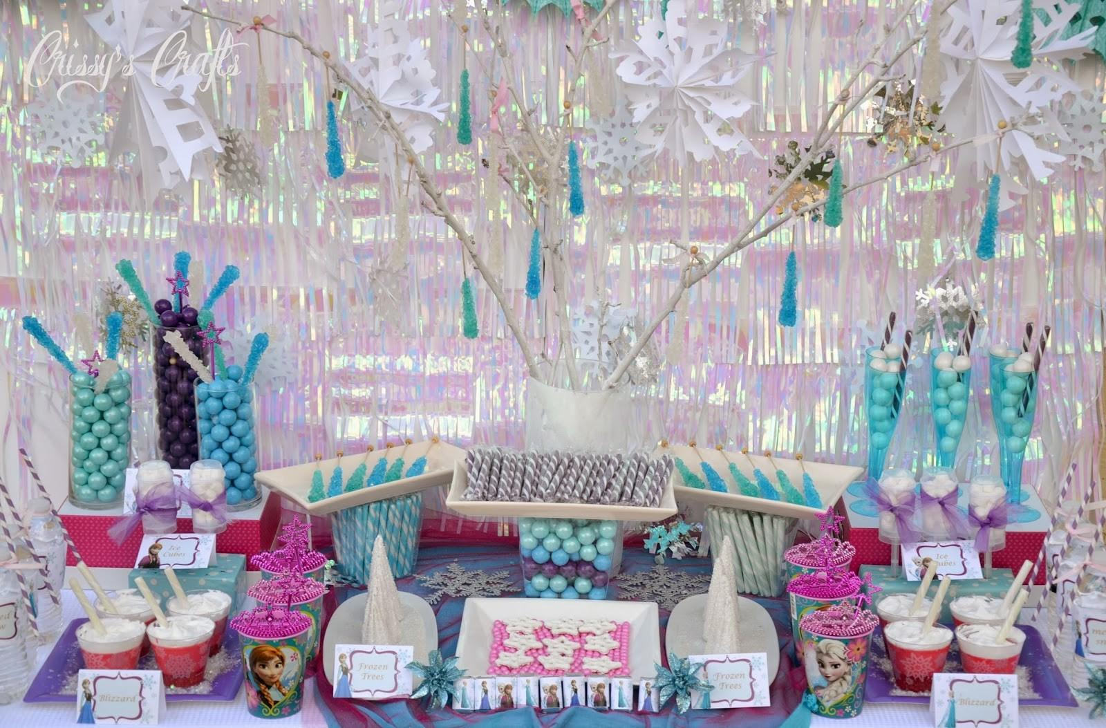 Crissy Crafts Disney Frozen Party Giveaway