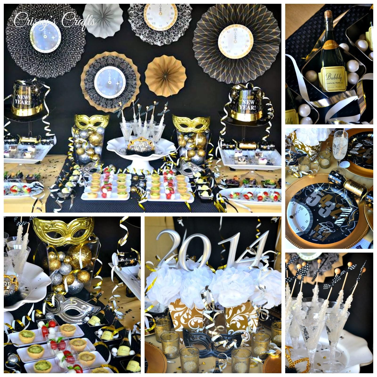 Crissy Crafts New Years Eve Party Ideas