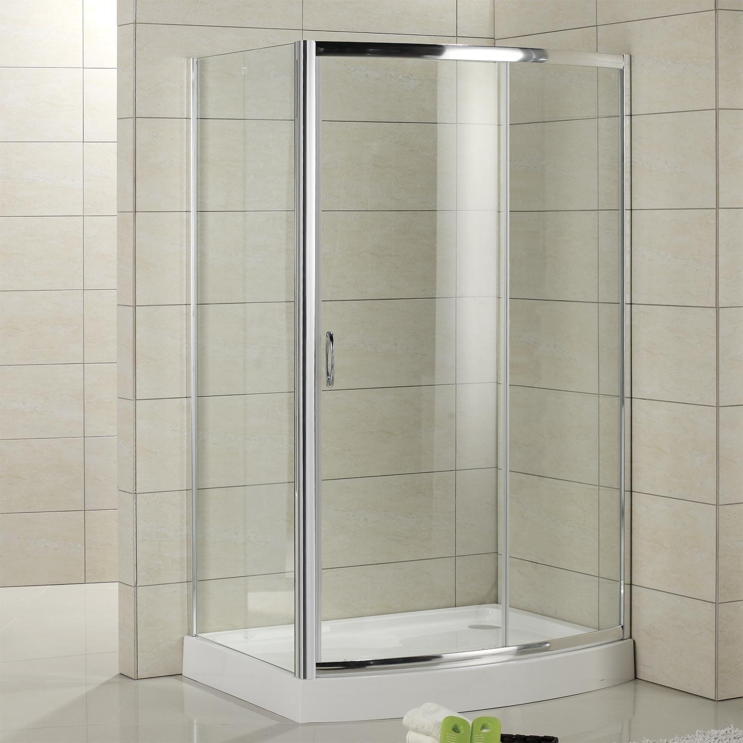 Cristina Corner Shower Enclosure Arched