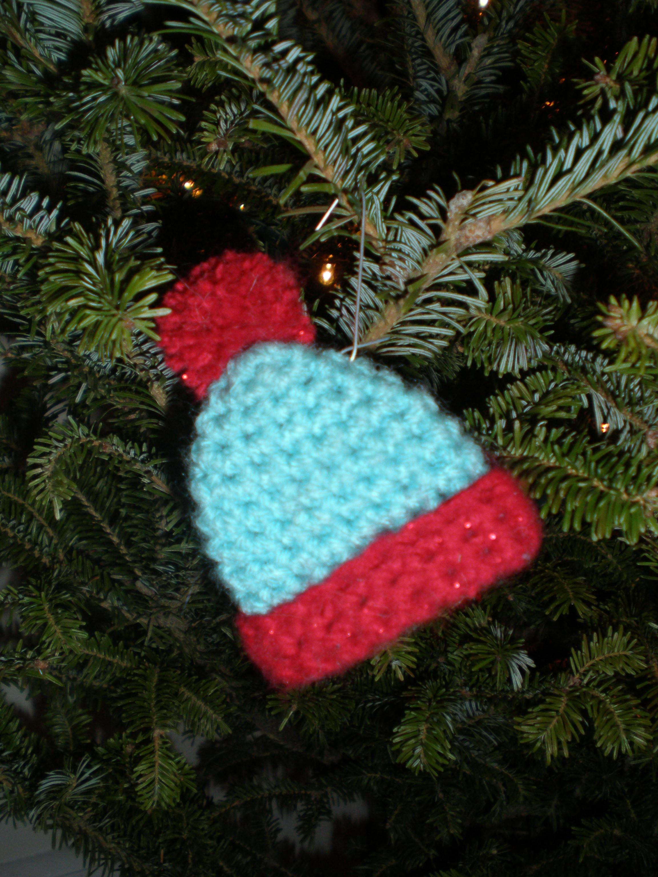 Crochet Christmas Ornaments Little Nutbrown Squirrel