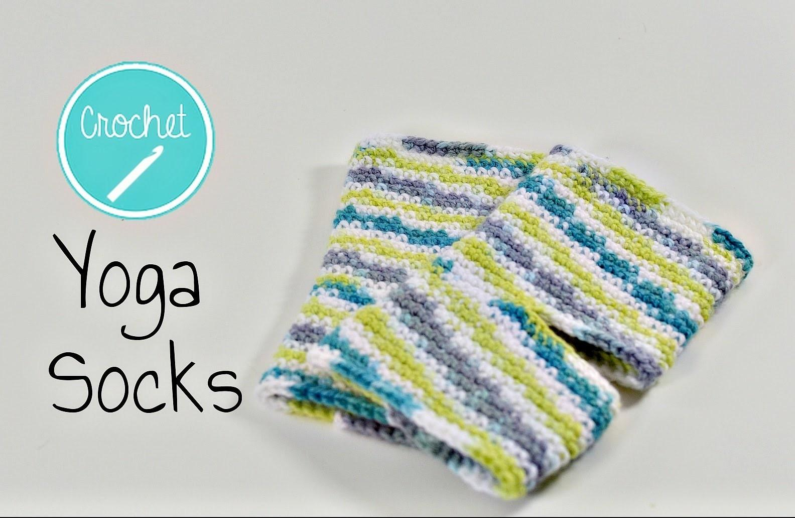Crochet Custom Sized Yoga Socks Tutorial Crafts