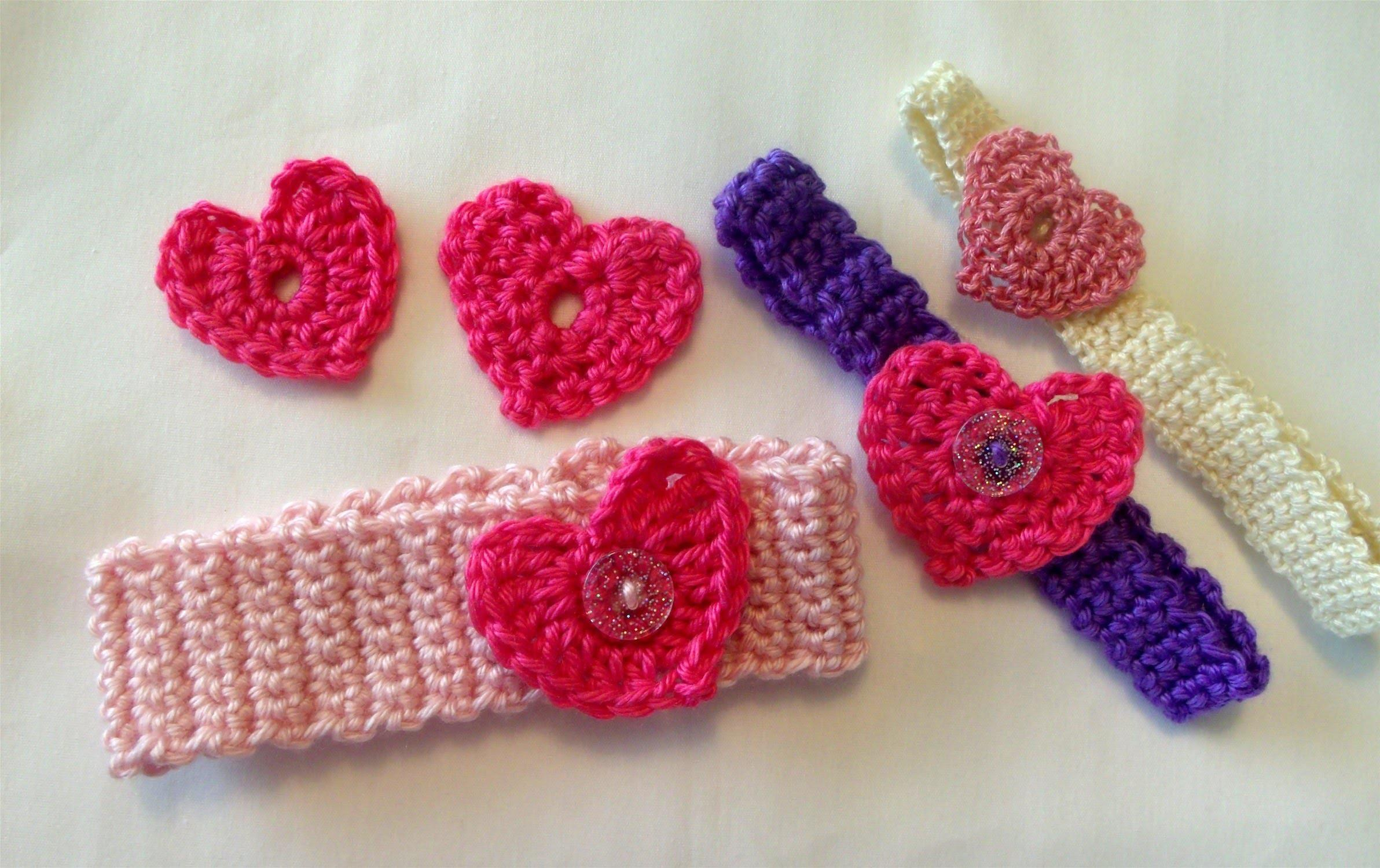 Crochet Heart Easy Valentines Day Crafts