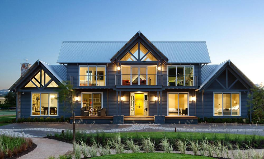 Cross Gable Roof Design Commonly Used Very Popular