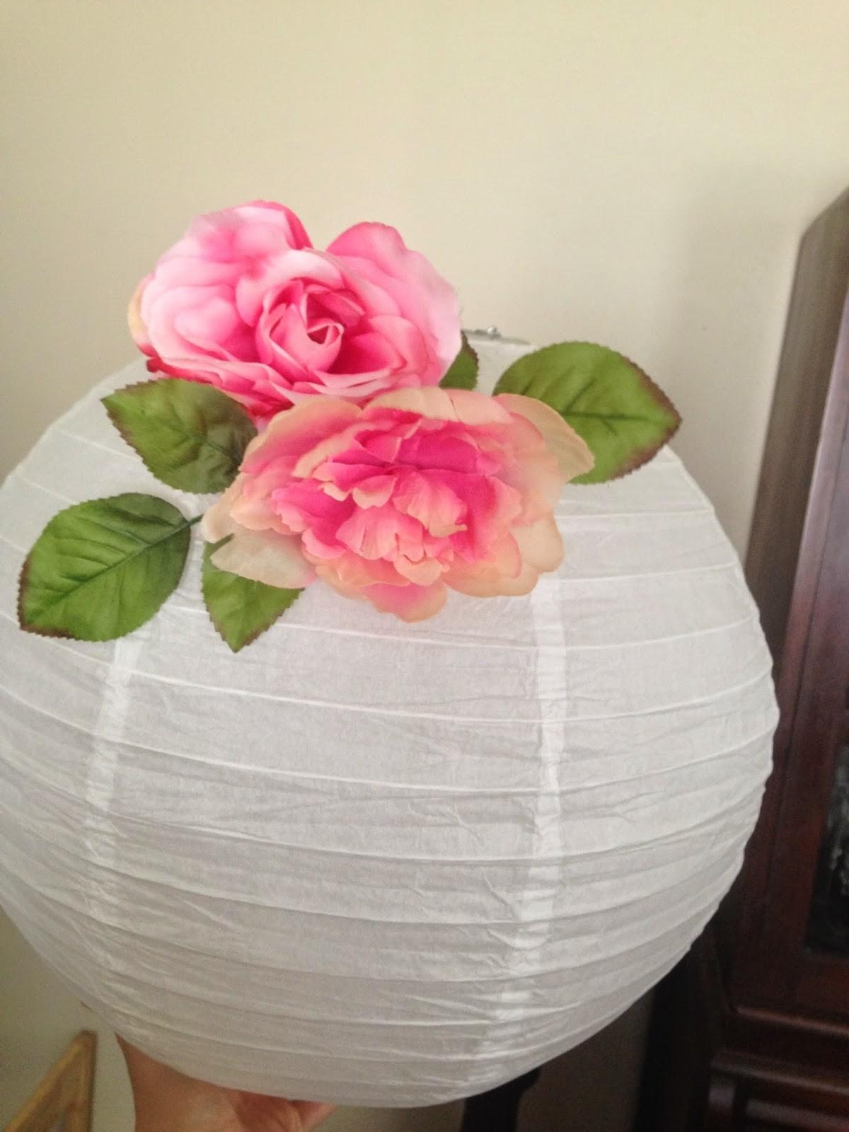 Crystal Rose Diy Flower Paper Lanterns