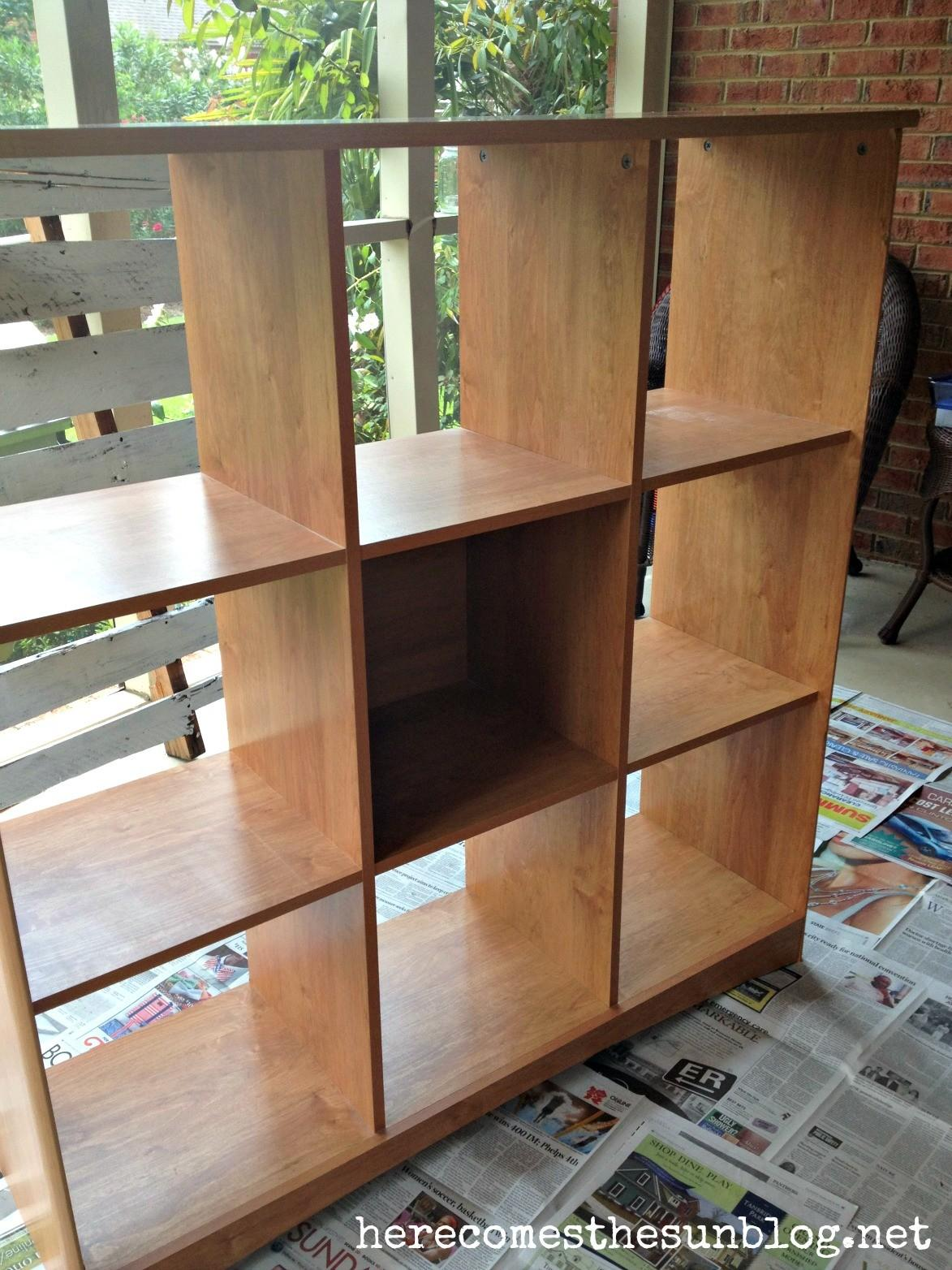 Cubby Storage Makeover Diy Chalk Paint Here Comes Sun