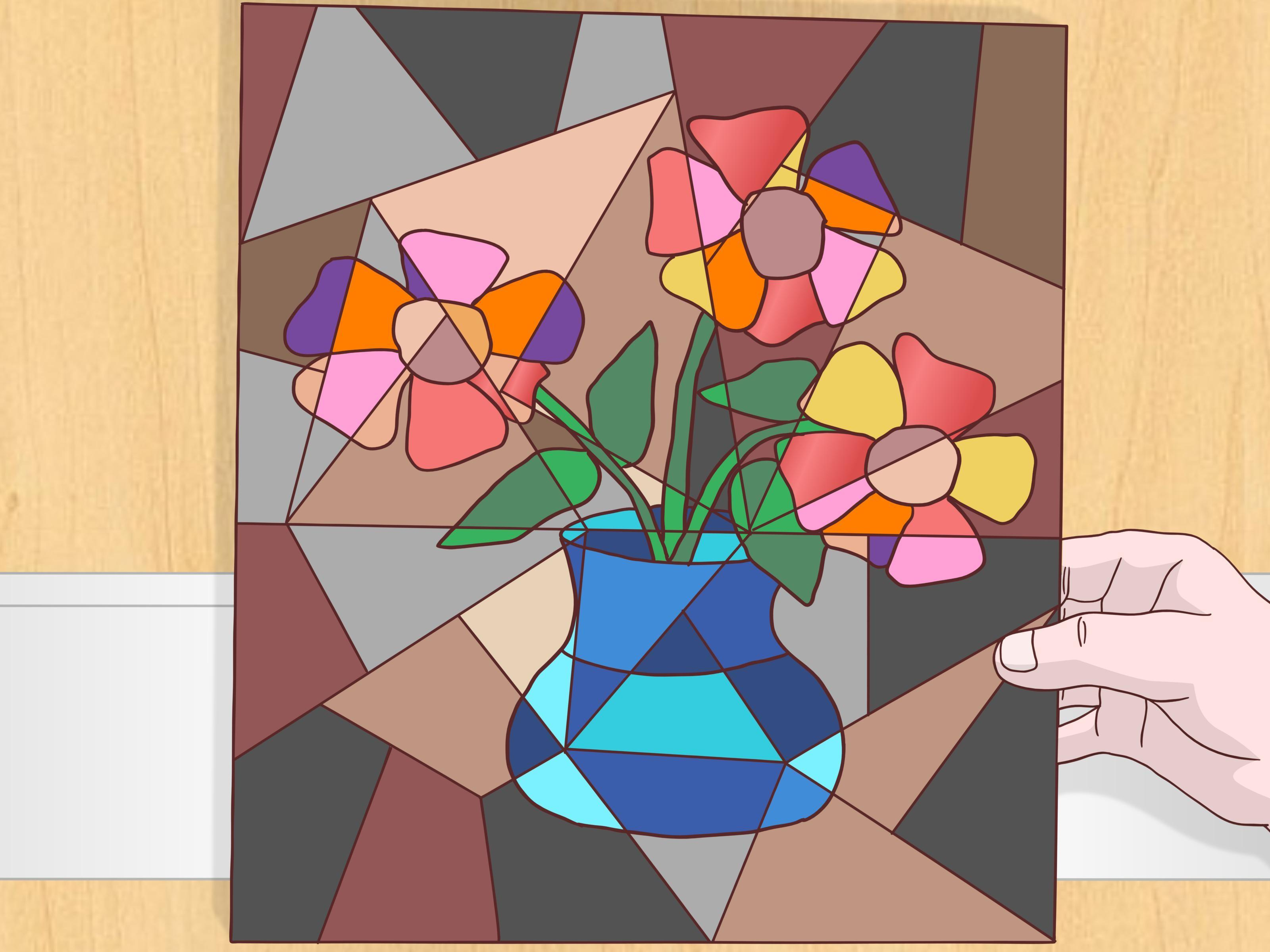 Cubist Style Painting Steps