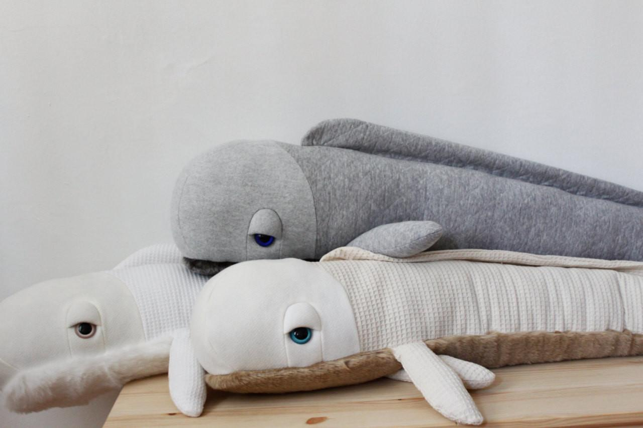 Culture Lifestyle Adorable Albino Sea Animal Pillows
