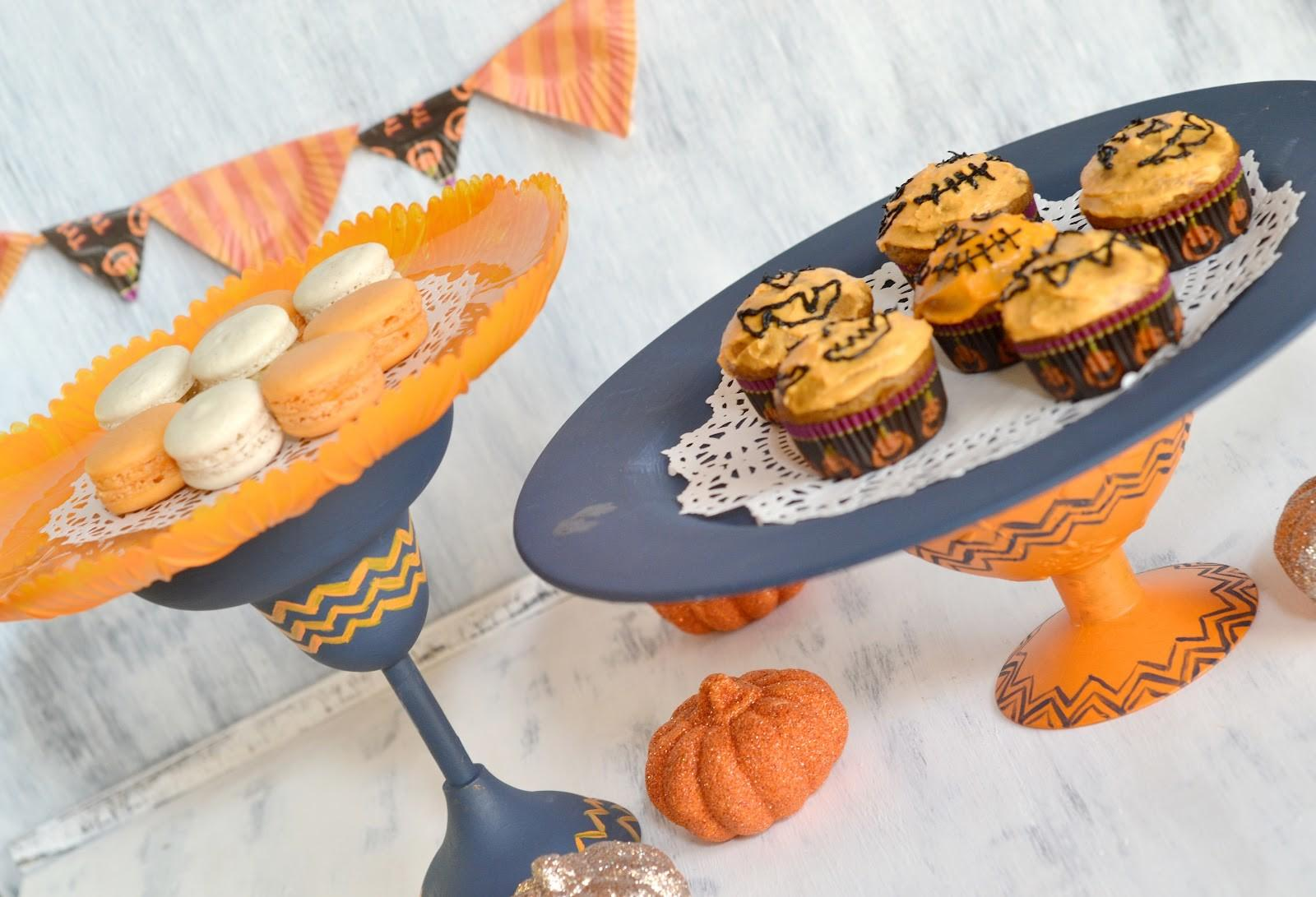 Curiositaellya Halloween Treats Cake Stands Diy