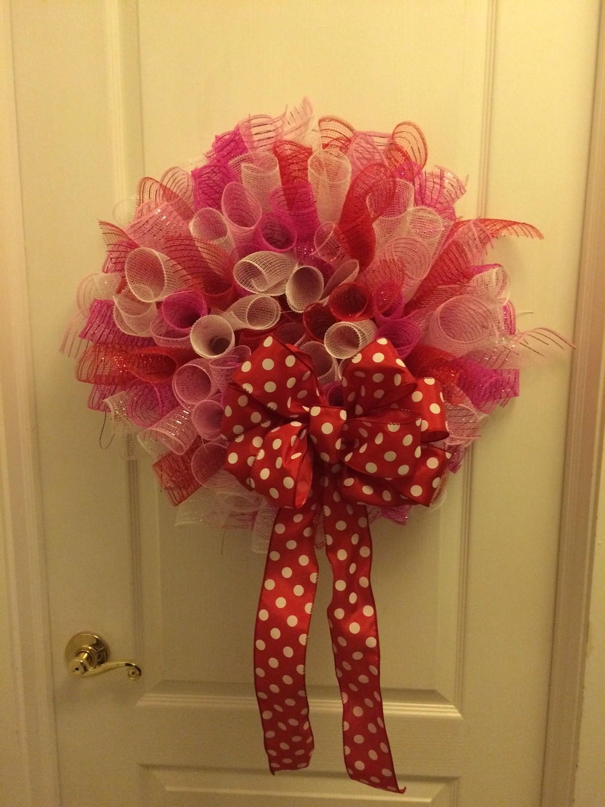 Curly Deco Mesh Wreaths Diy Living Time