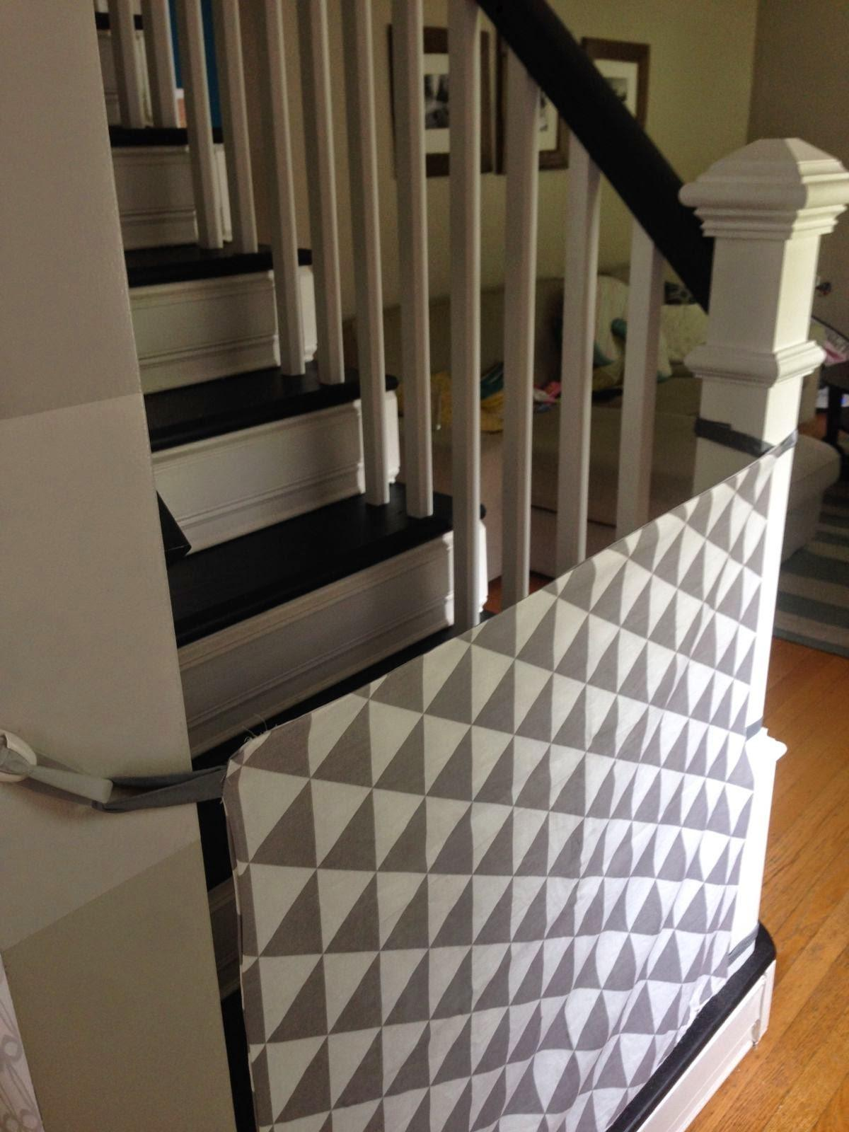 Curly Girl Diy Fabric Baby Gate
