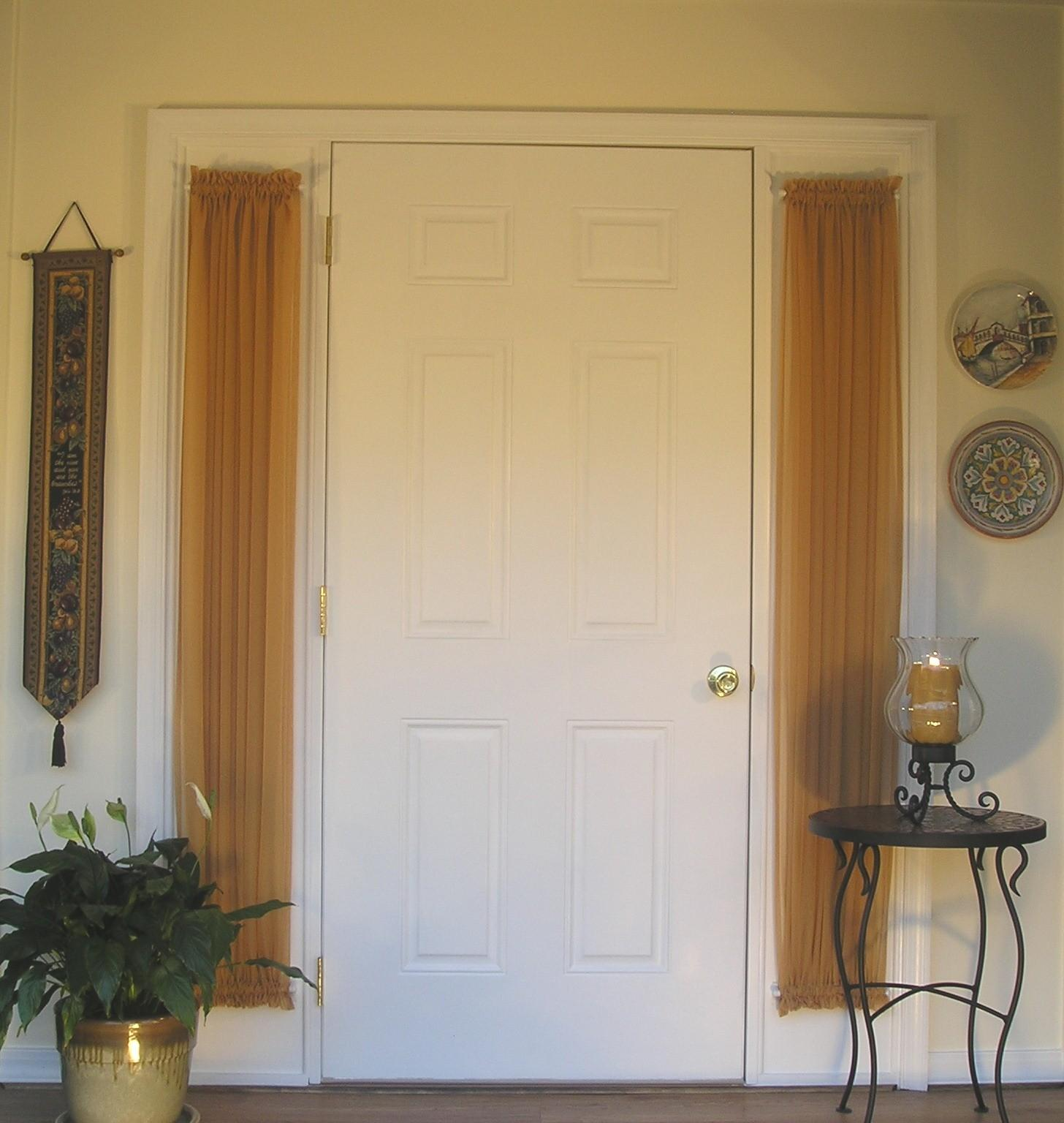 Curtains Front Door Windows Side Curtain