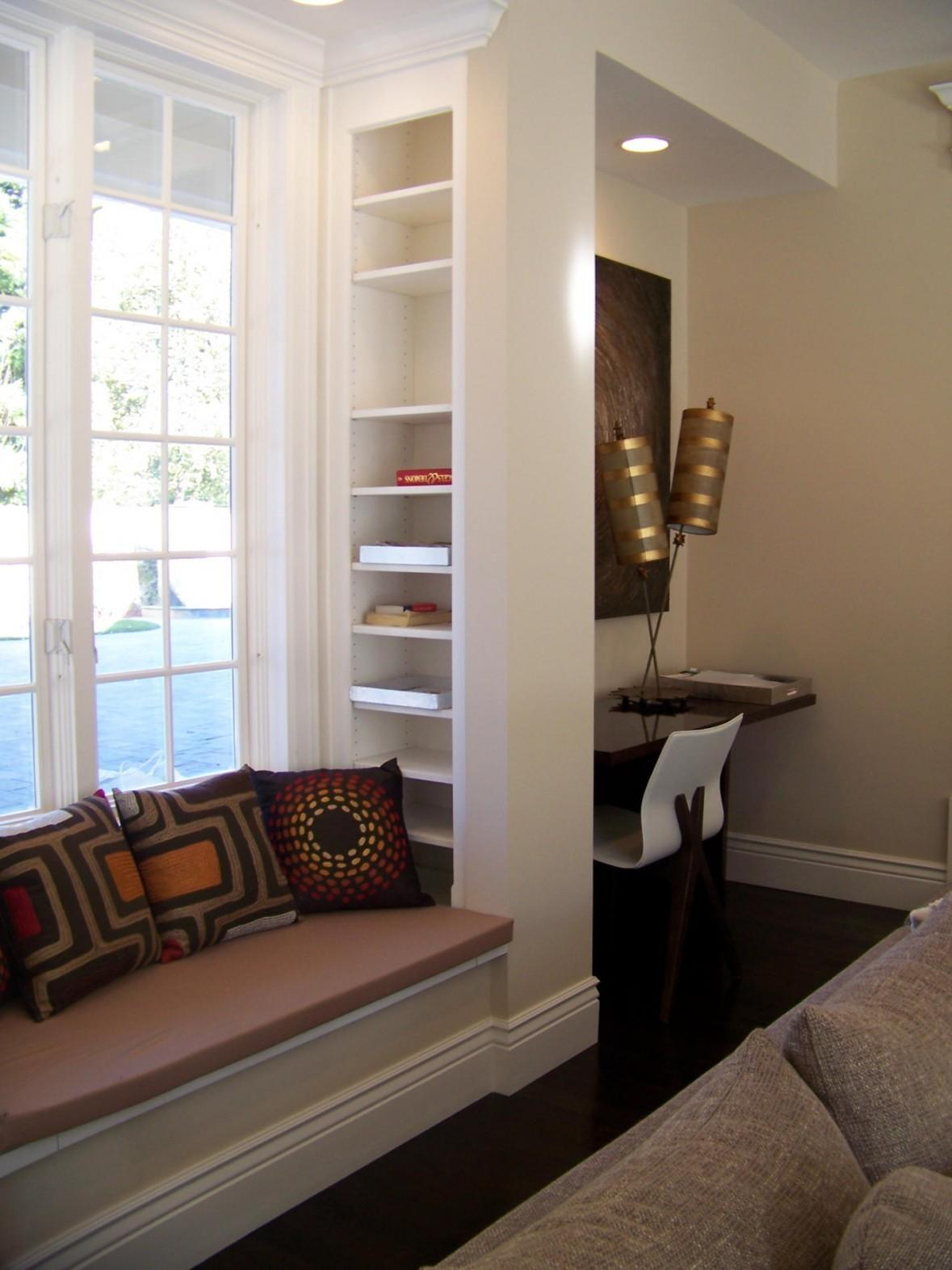 Curtains Window Seat Affordable Bedroom