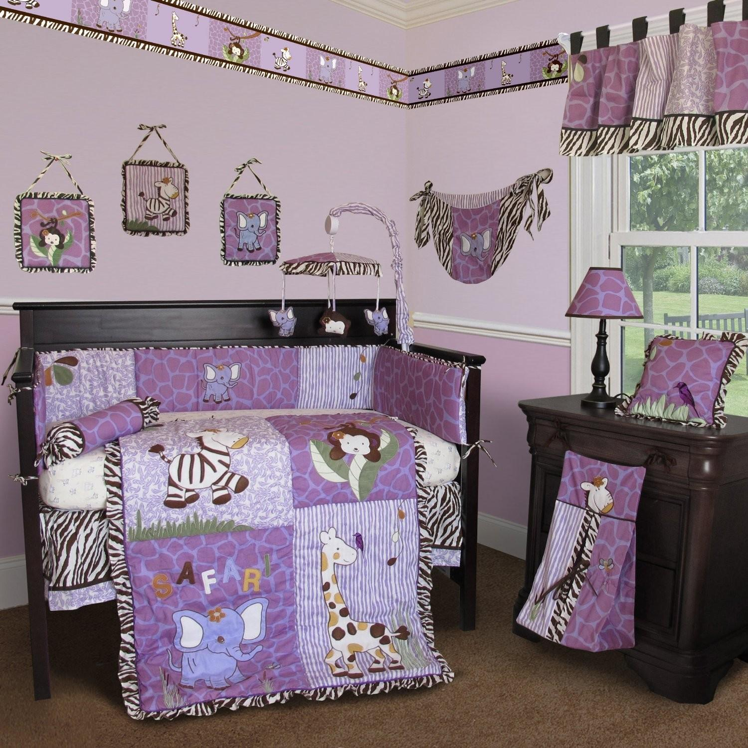 Custom Baby Girl Boutique Modern Crib Sets