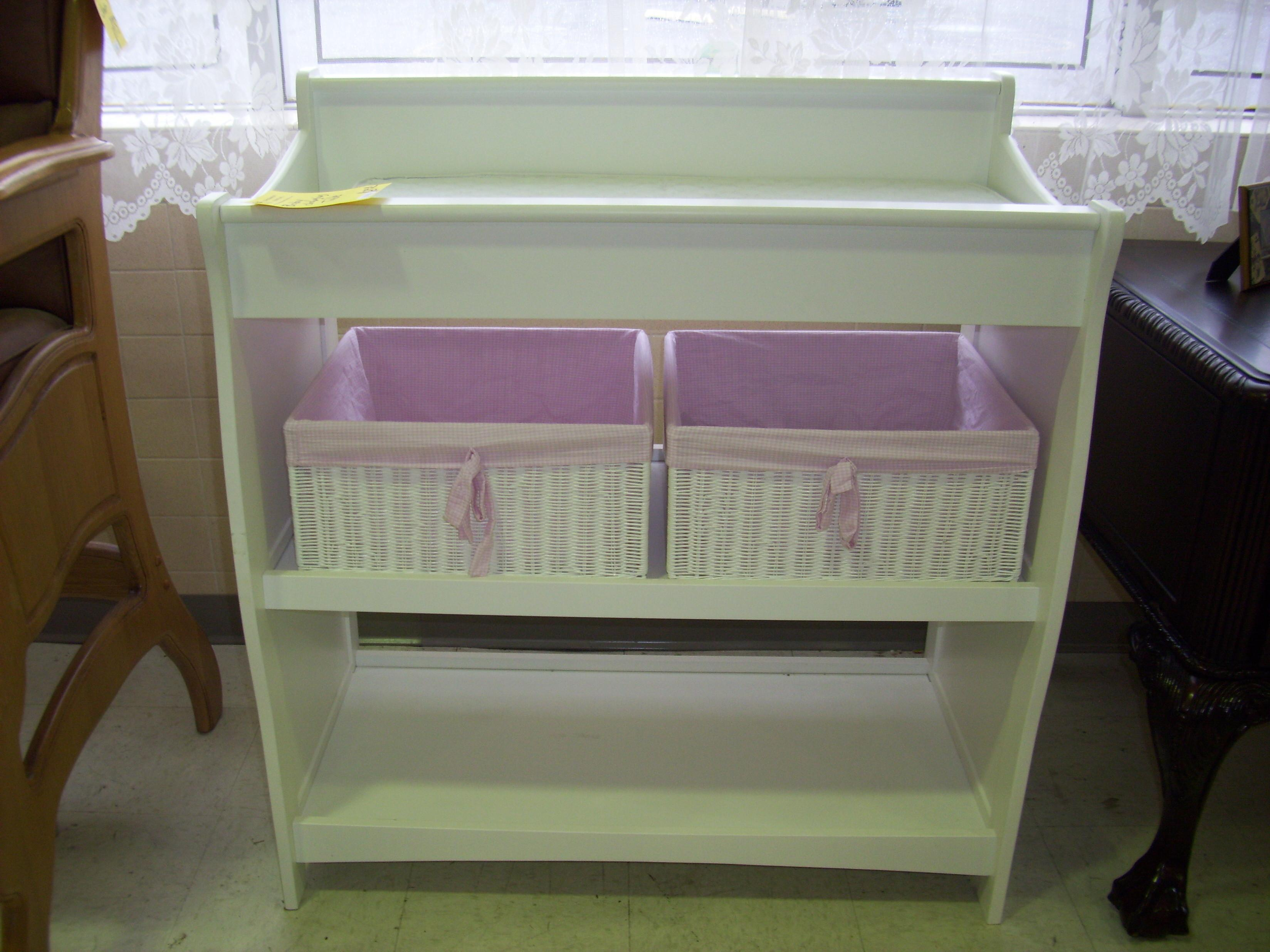 Custom Diy Baby Crib Changing Table Attached