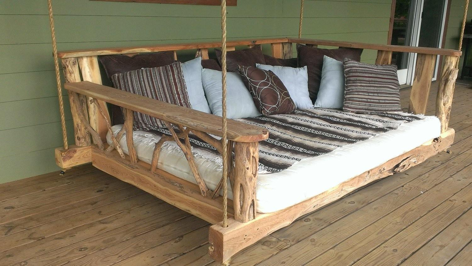 Custom Handcrafted Porch Swing Designs Style Motivation