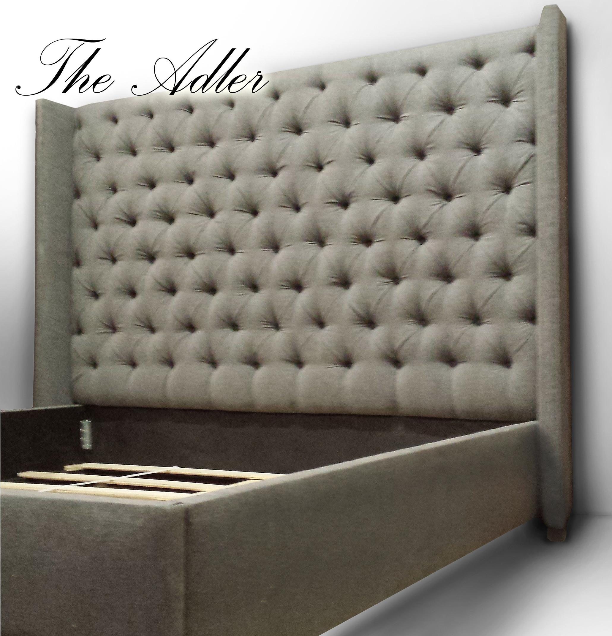 Custom Headboards Tufted Tall Headboard Upholstered Wall