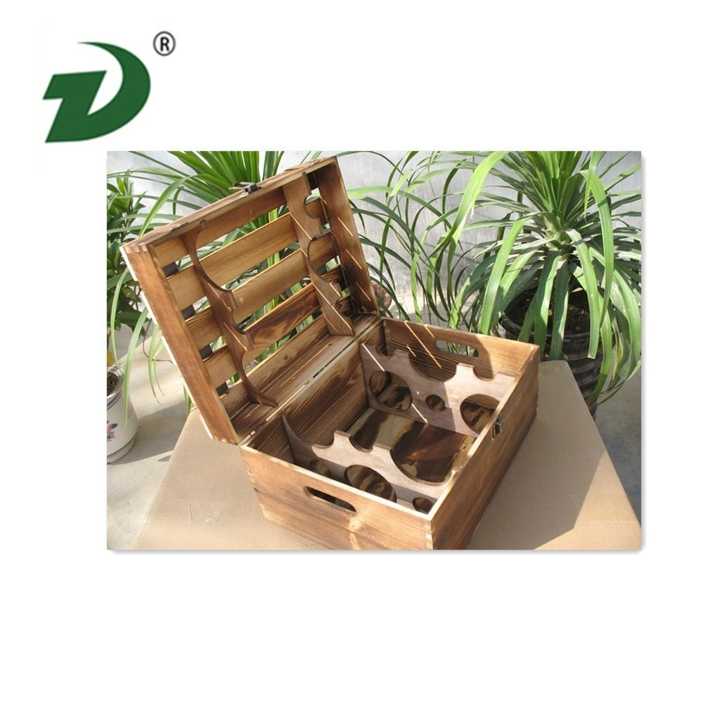 Custom Made Wooden Wine Boxes Wholesale Box