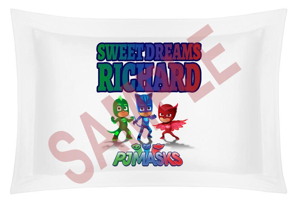 Custom Personalized Masks Pillow Case Sham Add Your Own