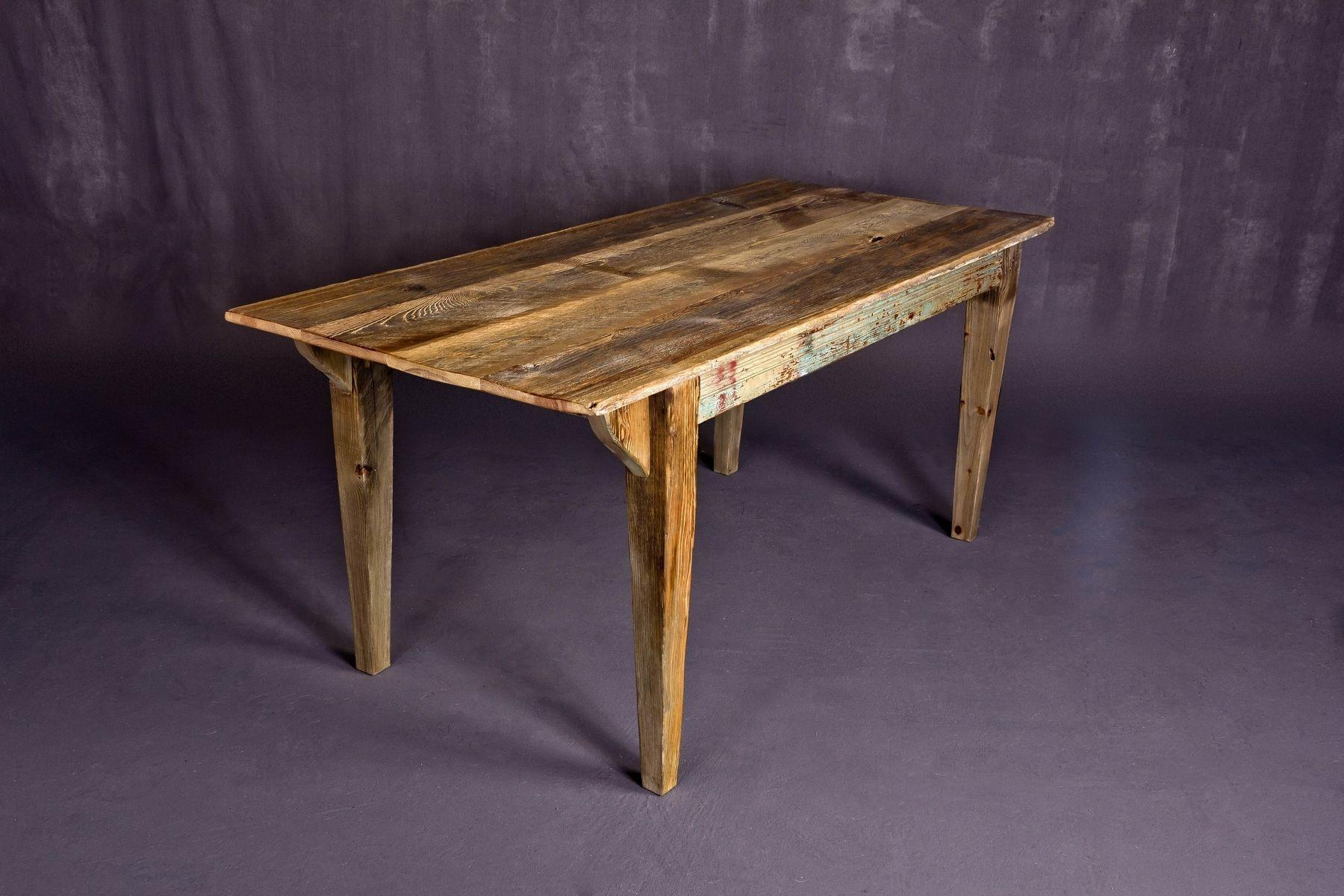 Custom Reclaimed Barn Wood Dining Table Heirloom Llc