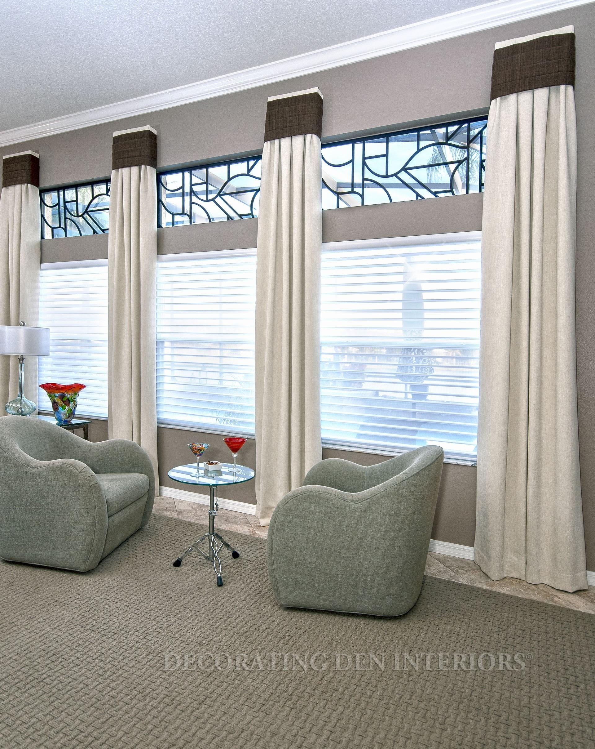 Custom Window Treatments Designer Curtains Shades