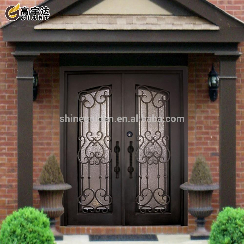 Customize Metal Exterior Door Gyd 15d0528 Buy Iron Main