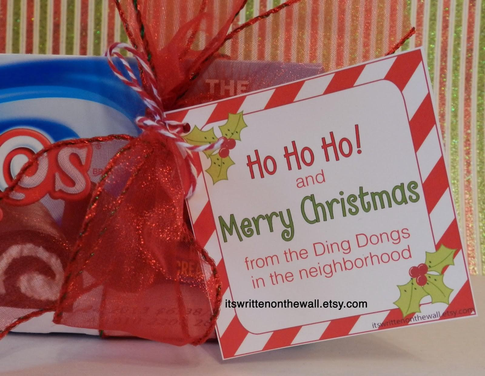Cute Christmas Gift Friends Workers Neighbors