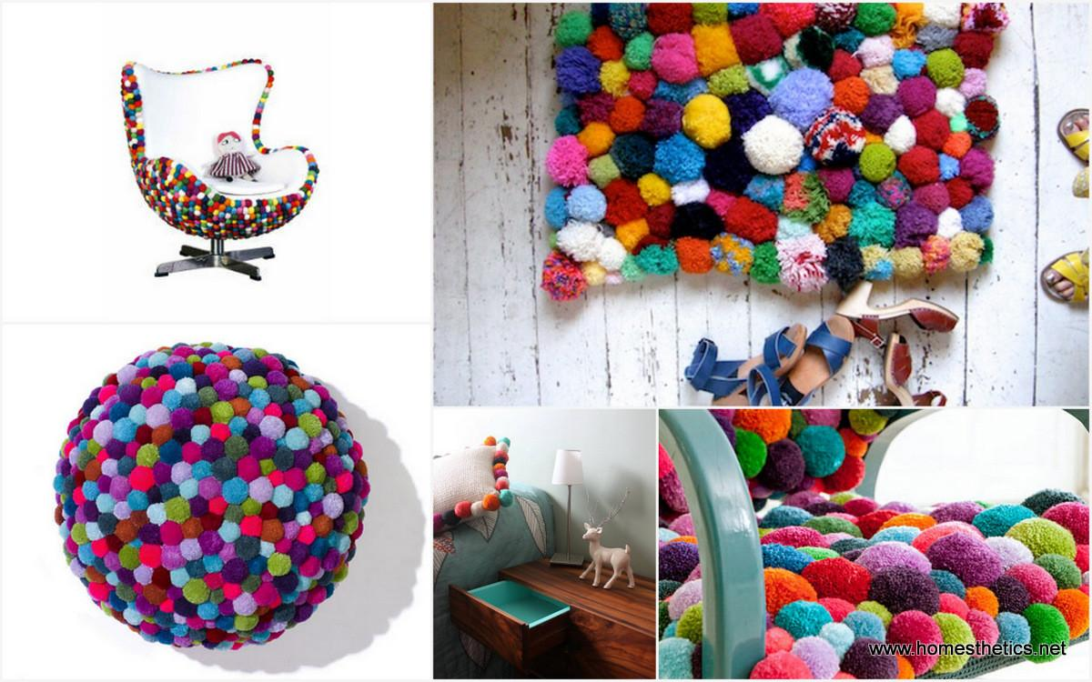 Cute Colorful Diy Pom Crafts Ideas Arch Art