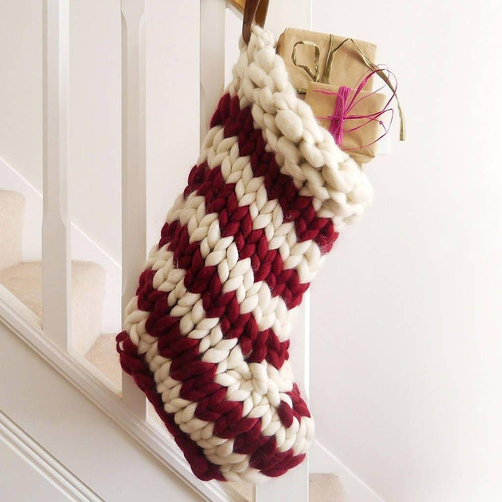 Cute Cozy Knitted Christmas Decorations Ideas22