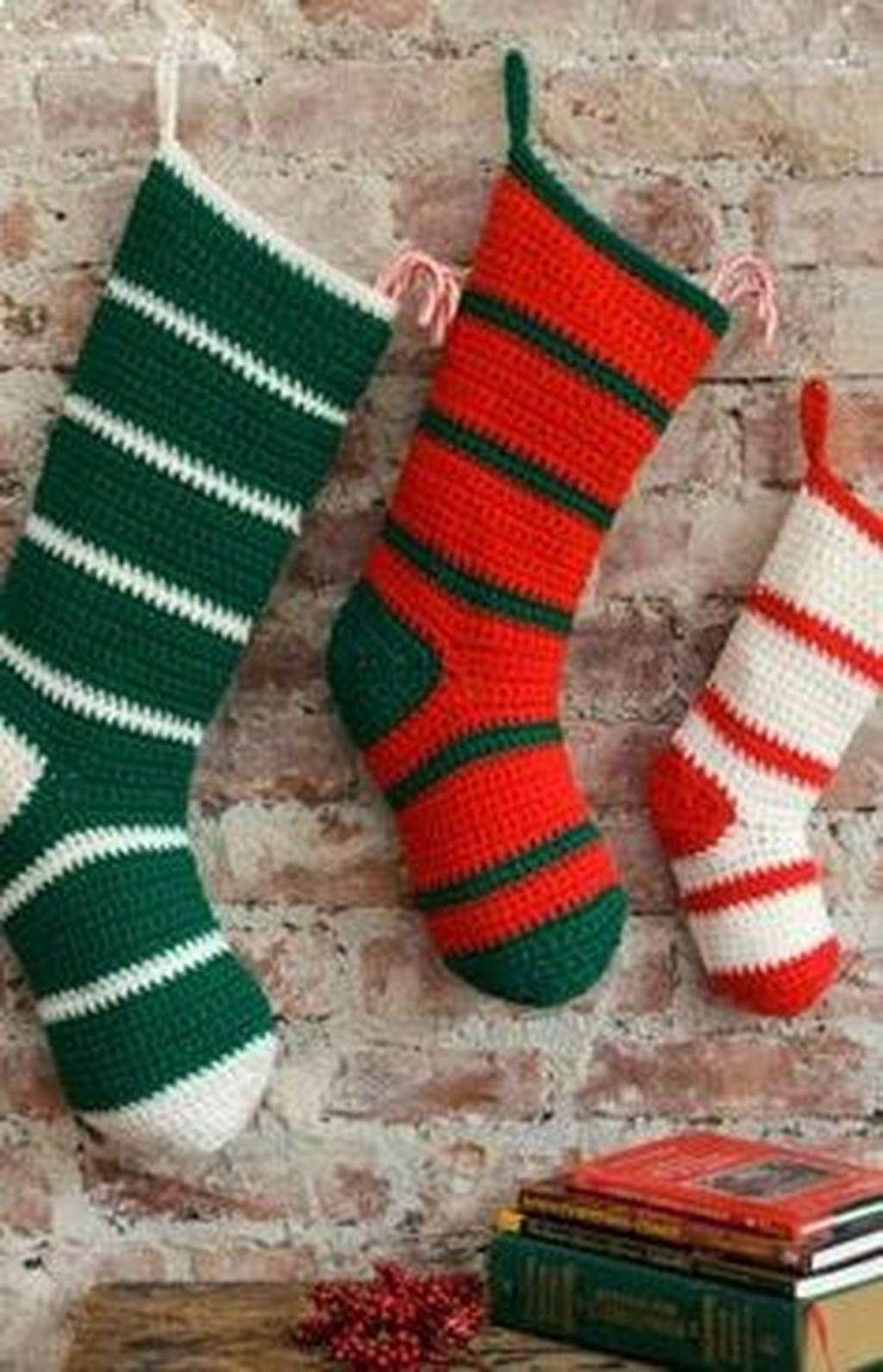 Cute Cozy Knitted Christmas Decorations Ideas28