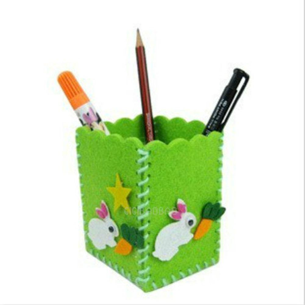 Cute Creative Handmade Pen Container Diy Pencil Holder