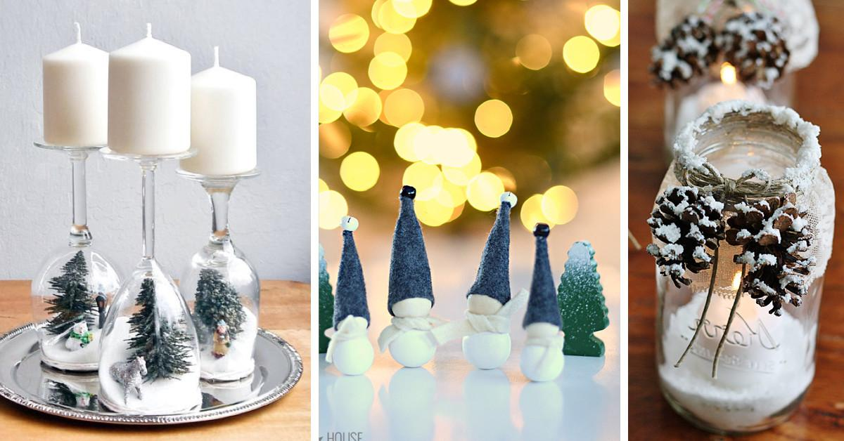 Cute Diy Christmas Decorations Lights Card